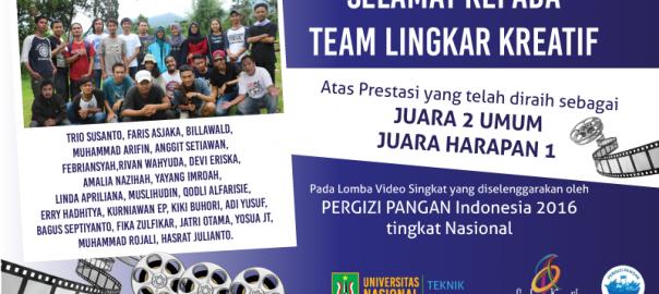 PrestasiFTKI_TI-UNAS_LingkarKreatif2016